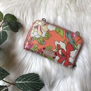 Sakroots | Zip Around Floral Wallet with Wristlet
